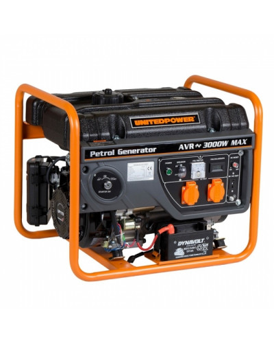 GENERATOR OPEN FRAME BENZINA STAGER GG 3400E 2.6W