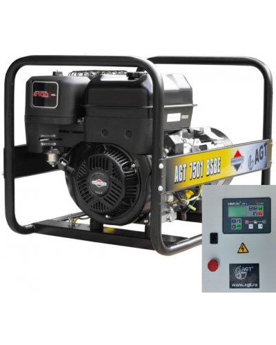 Generator curent AGT 7501 BSBE SE R26 B&S 14CP 6.4kVA + Automatizare AT408/22