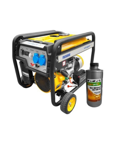 Generator open frame Stager FD 3600E + 1L ulei motor AgroPro