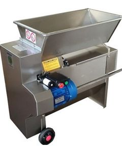Zdrobitor desciorchinator electric ENO 20 Inox 1800kg/h Fabricat in Italia