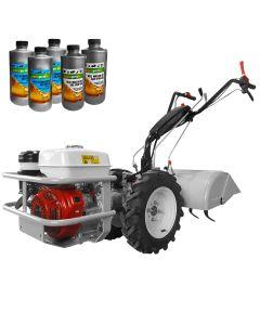 Motocultor profesional MGR 2 cu motor Honda GX 270 putere 9 CP 4 viteze de mers latime de lucru 60cm freza contrarotativa + Cadou 2l ulei motor + 3l ulei transmisie AgroPro