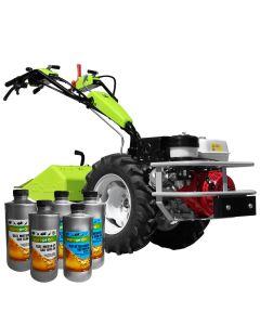 Motocultor Profesional Grillo G110DF cu motor Honda GX390 13CP 6viteze de mers Diferential + Frane freze 70cm + Cadou 2l ulei motor + 3l ulei transmisie