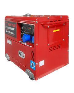 Generator electric Profesional AGT 6851 DSEA 11CP 5 kVA monofazat Diesel  AVR insonorizat + AT408/22