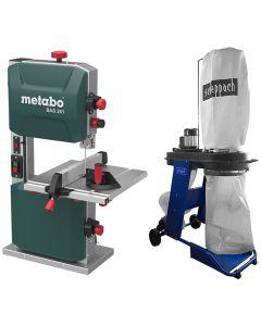 Fierastrau cu banda Metabo Precision BAS 261 aspirator HD 12