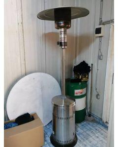 Incalzitor pentru terasa ZOBO H1107  pe GPL din inox + Cadou Termometru digital cu hidrometru