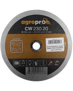 Disc polizor AgroPro CW-230-20 3 bucati 230x2.0 mm