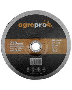 Disc polizor AgroPro GW-230-60 3 bucati 230x6x22.23 mm