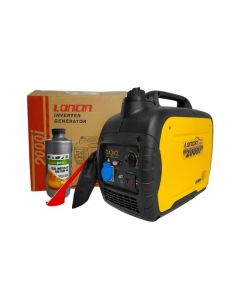 Generator electric portabil Loncin LC 2000i tip inverter 1.8 kW monofazat + 1l ulei motor AgroPro