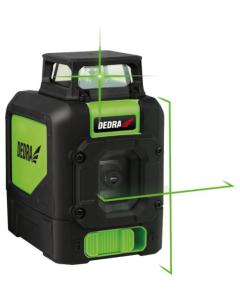 Nivel cu multilaser 1D Dedra MC0905 tip cruce acumulatorI 4xAA 6V fascicul laser verde lungime lucru 30 m