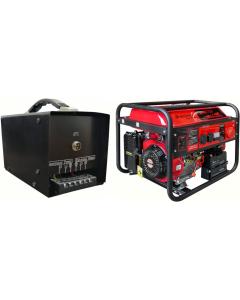 Generator cu automatizare de curent trifazat Breckner Germany BS 7500 tip AVR motor OHV 15 CP