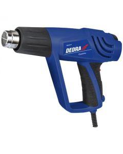Pistol aer cald Dedra DED7971 Temperatura maxima 600 grd.C Trepte 3 Putere 2000 W