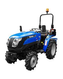 TRACTOR AGRICOL SOLIS 20 4WD - 20CP + PLUG ARAT 2 BRAZDE AgroPro + remorca basculabila 1 tona AgroPro