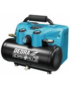Compresor Dedra DED7077V debit 90 l/min presiune 8 bar compatibilitate acumulatori SAS ALL 18V